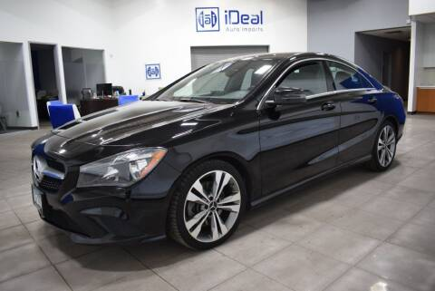 2015 Mercedes-Benz CLA for sale at iDeal Auto Imports in Eden Prairie MN