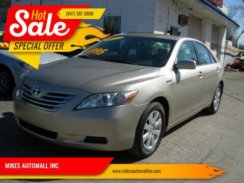 2007 Toyota Camry Hybrid for sale at MIKES AUTOMALL INC in Ingleside IL