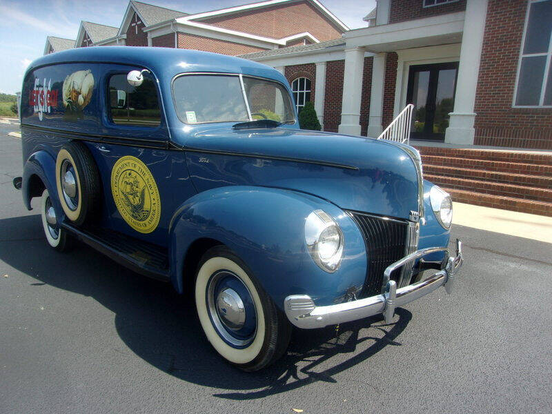 1940 Ford Panel Truck for sale at Classic Cars of South Carolina in Gray Court SC