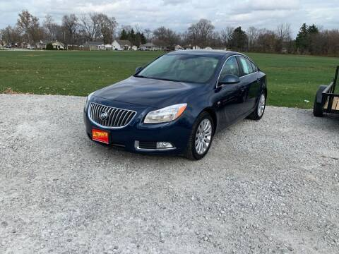 2011 Buick Regal for sale at Ultimate Auto Sales in Crown Point IN