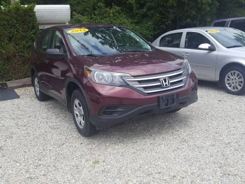 2013 Honda CR-V for sale at Jack Cooney's Auto Sales in Erie PA