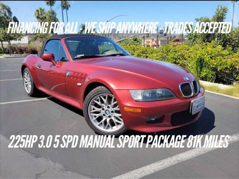 2002 BMW Z3 for sale at Auto Advantage in Escondido CA