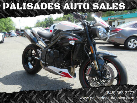 2020 Triumph SPEED TRIPLE RS for sale at PALISADES AUTO SALES in Nyack NY