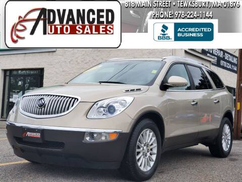 2010 Buick Enclave for sale at Advanced Auto Sales in Tewksbury MA