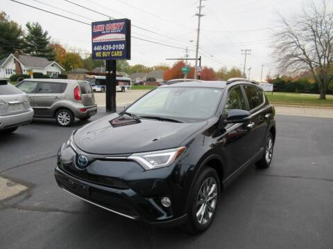 2017 Toyota RAV4 Hybrid for sale at Lake County Auto Sales in Painesville OH