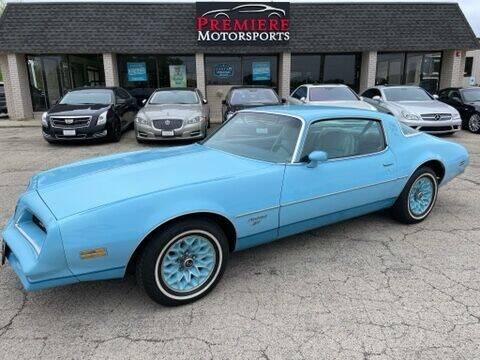 1978 Pontiac Firebird for sale in Plainfield, IL