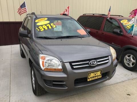 2008 Kia Sportage for sale at Lakeside Auto & Sports in Garrison ND