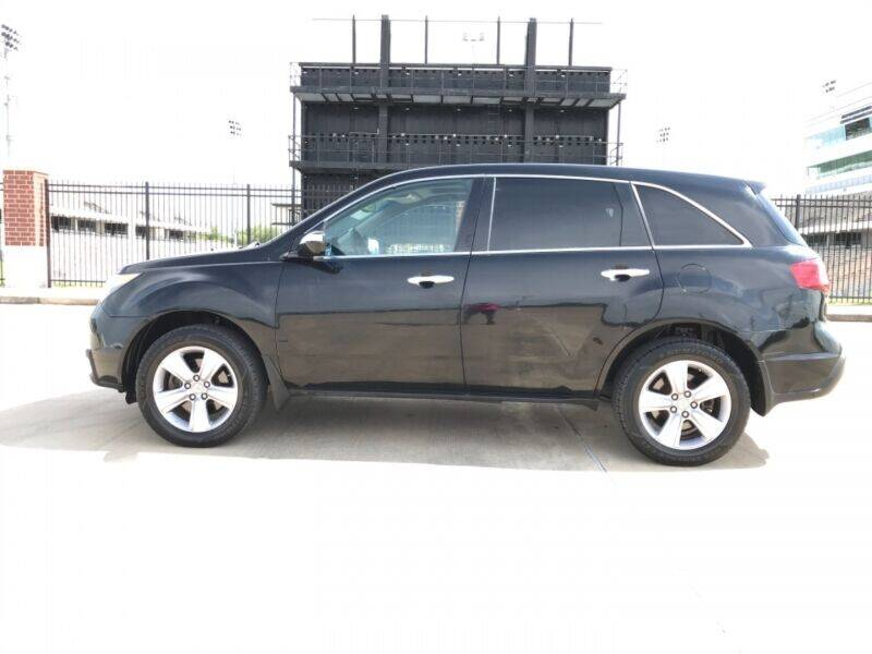 2013 Acura MDX for sale at ALL AMERICAN FINANCE AND AUTO in Houston TX