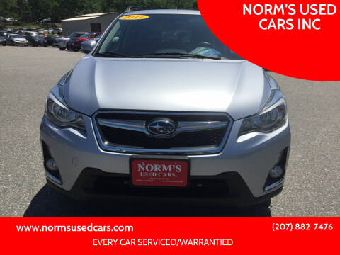 2017 Subaru Crosstrek for sale at NORM'S USED CARS INC in Wiscasset ME