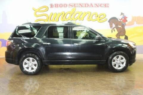 2014 GMC Acadia for sale at Sundance Chevrolet in Grand Ledge MI