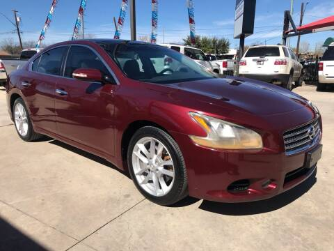 2009 Nissan Maxima for sale at Auto A to Z / General McMullen in San Antonio TX