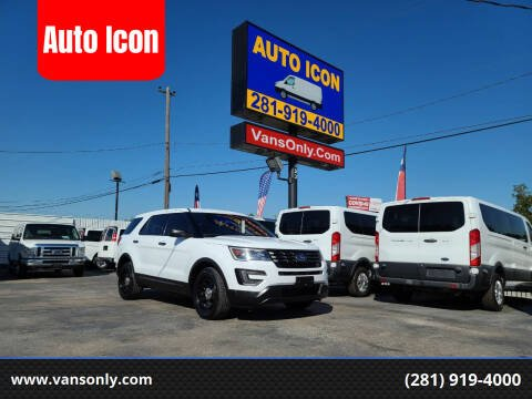 2016 Ford Explorer for sale at Auto Icon in Houston TX