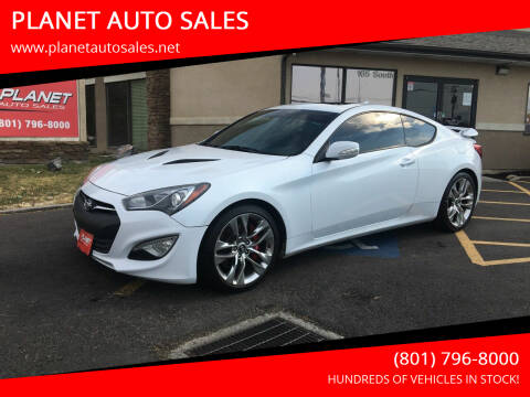 2015 Hyundai Genesis Coupe for sale at PLANET AUTO SALES in Lindon UT