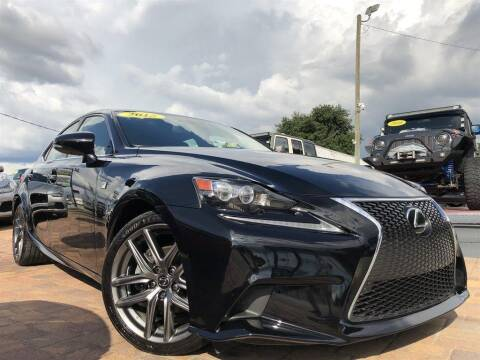 2015 Lexus IS 250 for sale at Cars of Tampa in Tampa FL