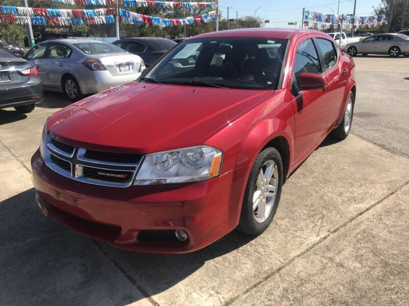 2013 Dodge Avenger for sale at AMERICAN AUTO COMPANY in Beaumont TX