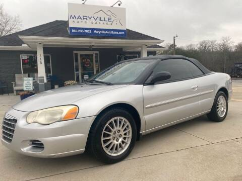 2006 Chrysler Sebring for sale at Maryville Auto Sales in Maryville TN