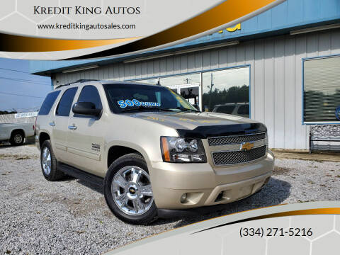 2013 Chevrolet Tahoe for sale at Kredit King Autos in Montgomery AL