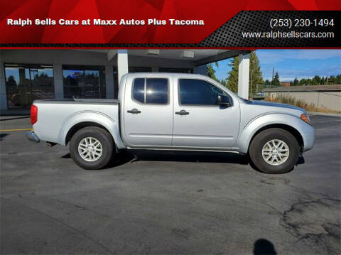 2016 Nissan Frontier for sale at Ralph Sells Cars at Maxx Autos Plus Tacoma in Tacoma WA