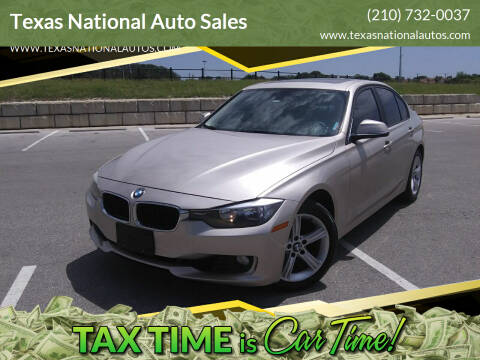 2013 BMW 3 Series for sale at Texas National Auto Sales in San Antonio TX