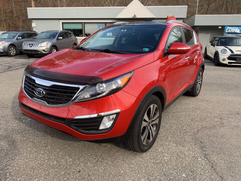 2011 Kia Sportage for sale at B & P Motors LTD in Glenshaw PA