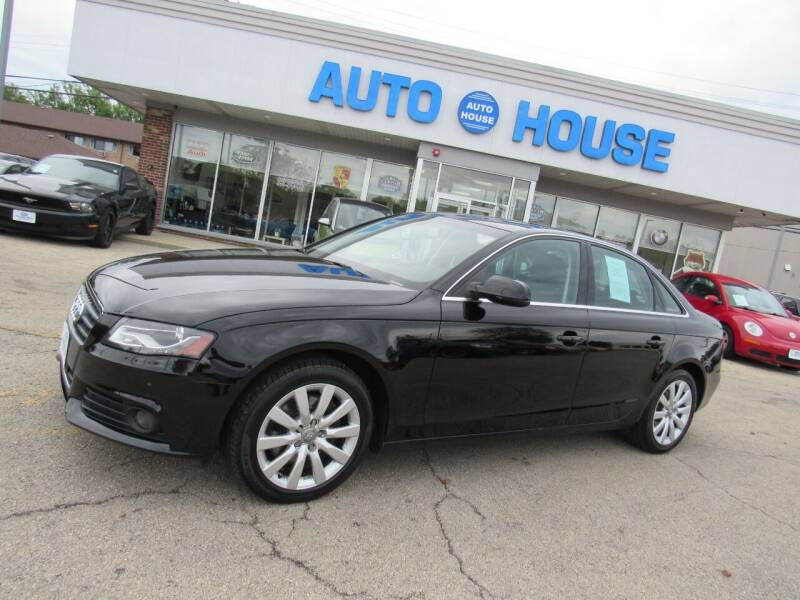 2010 Audi A4 for sale at Auto House Motors in Downers Grove IL