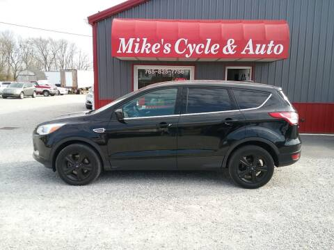 2016 Ford Escape for sale at MIKE'S CYCLE & AUTO in Connersville IN