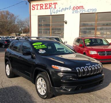 2015 Jeep Cherokee for sale at Street Visions in Telford PA