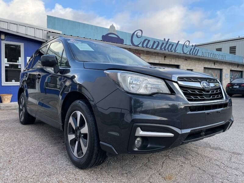 2017 Subaru Forester for sale at Capital City Automotive in Austin TX