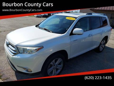 2013 Toyota Highlander for sale at Bourbon County Cars in Fort Scott KS