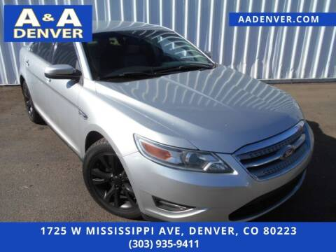 2010 Ford Taurus for sale at A & A AUTO LLC in Denver CO