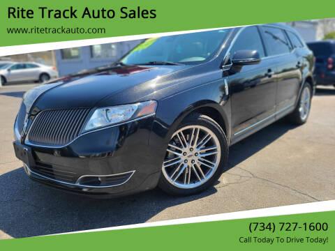 2013 Lincoln MKT for sale at Rite Track Auto Sales in Wayne MI
