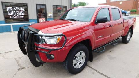 2015 Toyota Tacoma for sale at Mid Kansas Auto Sales in Pratt KS