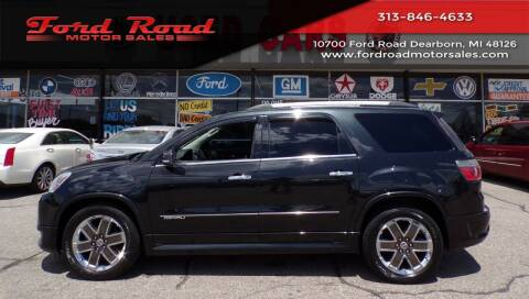 2012 GMC Acadia for sale at Ford Road Motor Sales in Dearborn MI