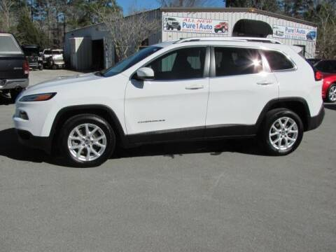 2017 Jeep Cherokee for sale at Pure 1 Auto in New Bern NC