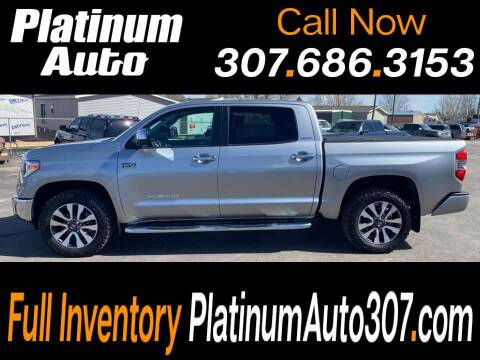 2019 Toyota Tundra for sale at Platinum Auto in Gillette WY