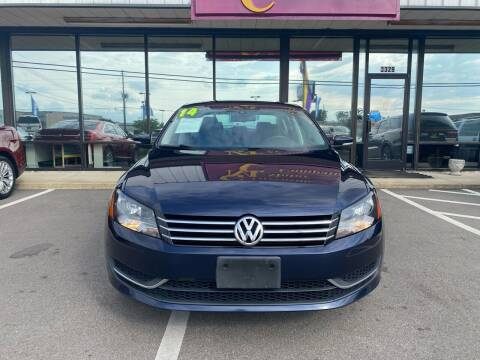 2014 Volkswagen Passat for sale at DRIVEhereNOW.com in Greenville NC