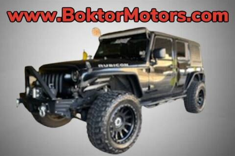 2014 Jeep Wrangler Unlimited for sale at Boktor Motors in North Hollywood CA