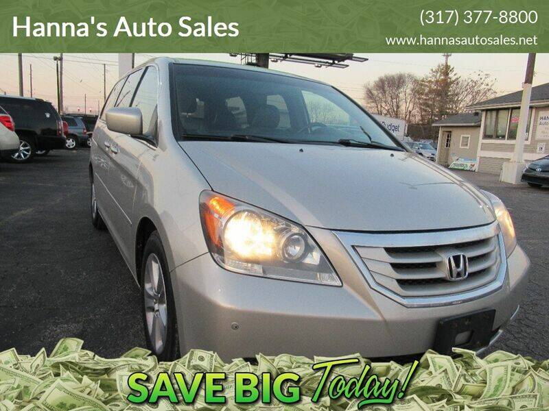 2008 Honda Odyssey for sale at Hanna's Auto Sales in Indianapolis IN