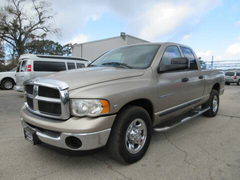 2004 Dodge Ram Pickup 2500 for sale at Quality Investments in Tyler TX