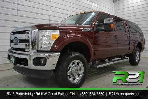 2012 Ford F-250 Super Duty for sale at Route 21 Auto Sales in Canal Fulton OH