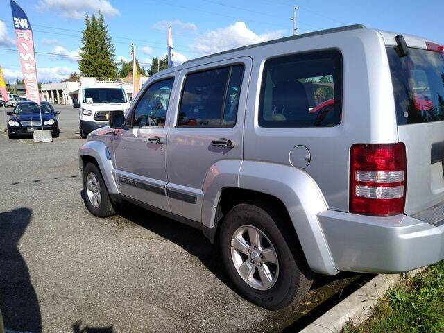 2012 Jeep Liberty for sale at MK MOTORS in Marysville WA