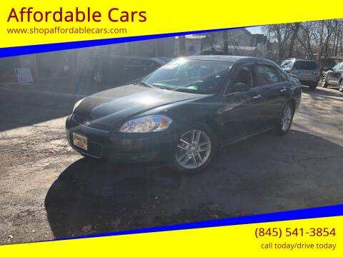 2009 Chevrolet Impala for sale at Affordable Cars in Kingston NY