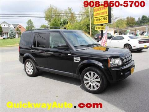 2013 Land Rover LR4 for sale at Quickway Auto Sales in Hackettstown NJ