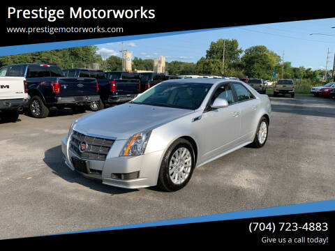 2011 Cadillac CTS for sale at Prestige Motorworks in Concord NC