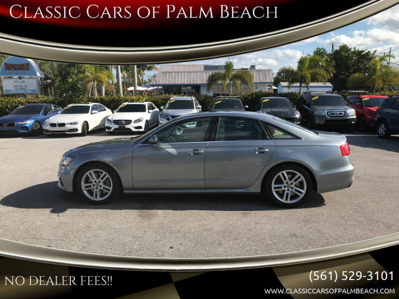 2012 Audi A6 for sale at Classic Cars of Palm Beach in Jupiter FL