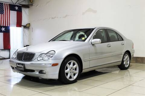 2003 Mercedes-Benz C-Class for sale at ROADSTERS AUTO in Houston TX