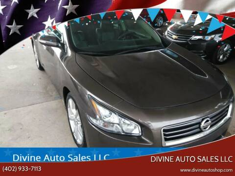 2012 Nissan Maxima for sale at Divine Auto Sales LLC in Omaha NE