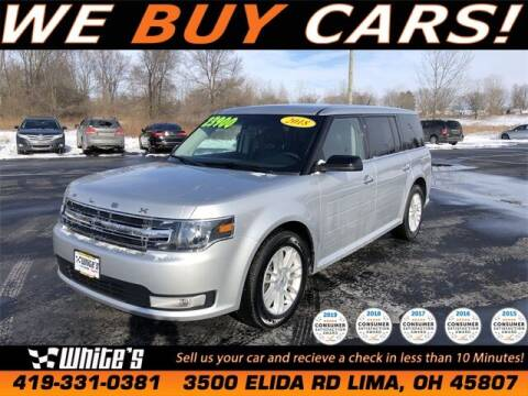 2018 Ford Flex for sale at White's Honda Toyota of Lima in Lima OH