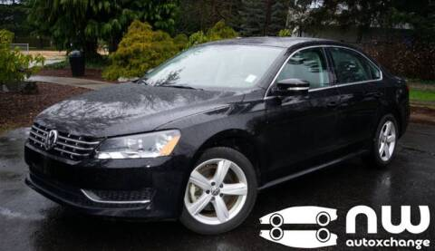 2013 Volkswagen Passat for sale at NW AutoXchange in Auburn WA