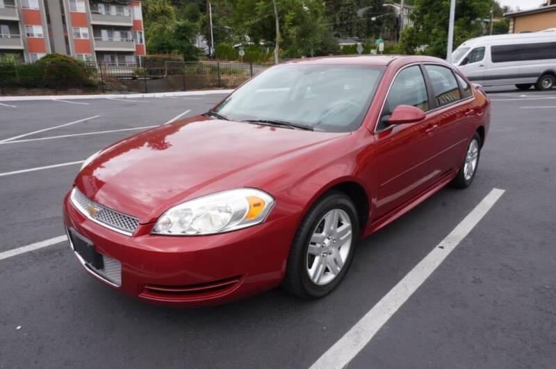 2012 Chevrolet Impala for sale at Precision Motors LLC in Renton WA